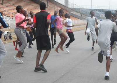 Rubies Athletes on Trainning @ Liberty Stadium