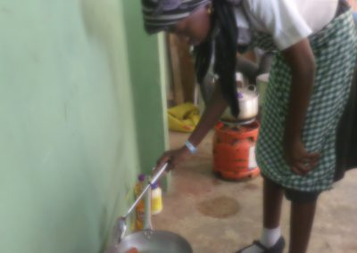Home Economics Practicals(Preparation of shawama & zobo drinks)