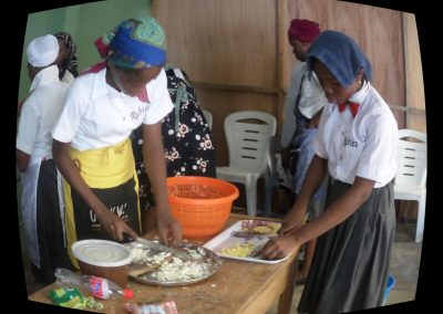 Home Economics Practicals(Preparation of shawama & zobo drinks